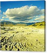 The Yellow Rock Of Yellowstone Canvas Print
