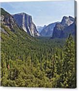 The Yosemite Valley Canvas Print