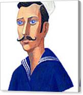 The Young Sailor Canvas Print
