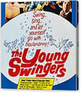 The Young Swingers, Us Poster Art, 1963 Canvas Print