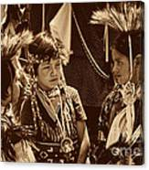 The Young Warriors - 2 Canvas Print