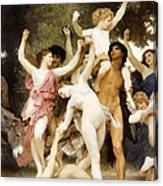 The Youth Of Bacchus Detail Canvas Print