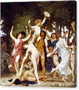 The Youth Of Bacchus Canvas Print