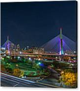The Zakim Bridge Canvas Print