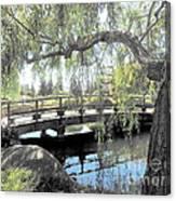 The Zen Bridge Canvas Print