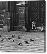 The Zocolo Mexico City Mexico 1970 Canvas Print