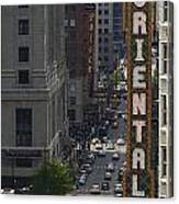 Theater District Canvas Print