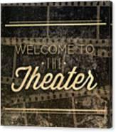 Theater Canvas Print