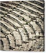 Theatre At Epidaurus Canvas Print