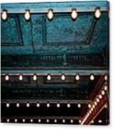 Theatre Lights Canvas Print