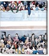 Theatre, Paris, C1830 Canvas Print