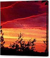 Thee Sunset Of Summer 2014 Canvas Print