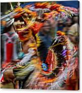 Their Spirit Is Among Us - Nanticoke Powwow Delaware Canvas Print