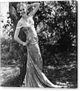 Thelma Todd, Ca. 1934 Canvas Print