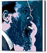 Thelonious Monk Canvas Print