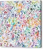 Themeless Process 12 Canvas Print