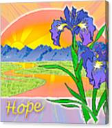 Themes Of The Heart-hope Canvas Print