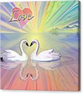 Themes Of The Heart-love Canvas Print