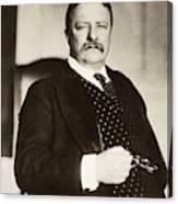 Theodore Roosevelt(1858-1919) Canvas Print