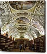Theological Hall Strahov Monastery Canvas Print