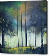There Is Light At The End Of The Woods Canvas Print