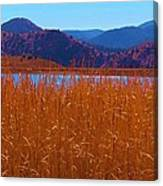 There's A Lake Over There Canvas Print
