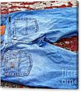 These Old Jeans Canvas Print