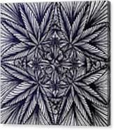 Thinkin Green Canvas Print