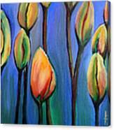 Thinking Spring Canvas Print