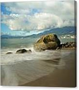 Third Beach In Vancouver Canvas Print