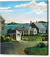Third Cliff No. 1 Canvas Print