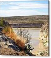 Thirsty Rio Grande Canvas Print