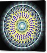 Thirteen Stage Alchemy Kaleidoscope Canvas Print