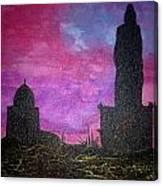 Thiruvalluvar Statue In Kanyakumari Canvas Print