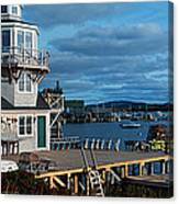This Is A Lobster Village In New Canvas Print