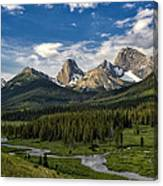 This Is Alberta No.27 - Spray Valley Peaks Canvas Print