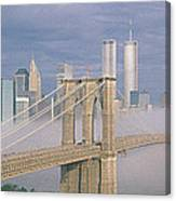 This Is The Brooklyn Bridge Canvas Print