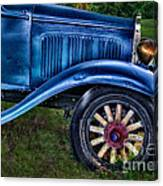 This Old Car Canvas Print