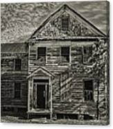 This Old House 3 Canvas Print