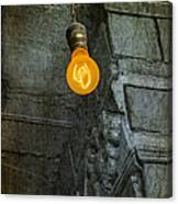 Thomas Edison Lightbulb Canvas Print