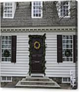 Thomas Everard House Williamsburg Canvas Print