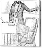 Thomas Hart Benton (1782-1858) Canvas Print