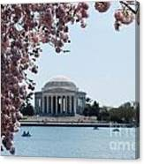 Thomas Jefferson Memorial In Dc Canvas Print