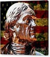 Thomas Jefferson Statue  Canvas Print