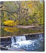 Thomas' Mill Dam Canvas Print