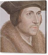 Thomas More Canvas Print
