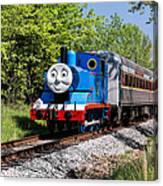 Thomas Visits The Cvnp Canvas Print