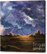Thor's Fury Canvas Print