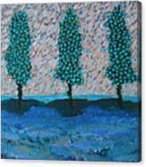 Those Trees I Always See #7 Canvas Print