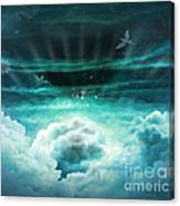 Those Who Have Departed - Celestial Version Canvas Print